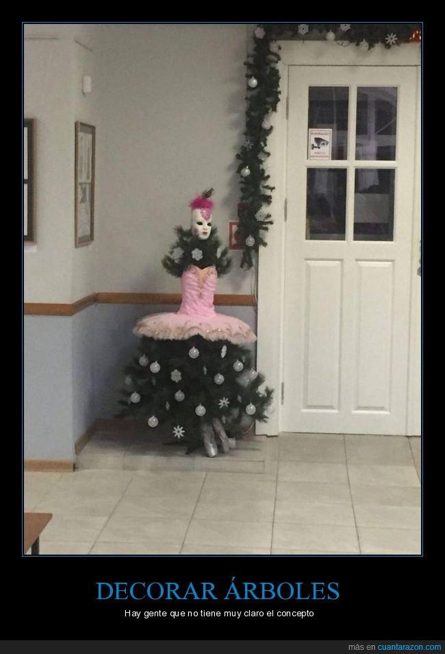 árbol de navidad,wtf