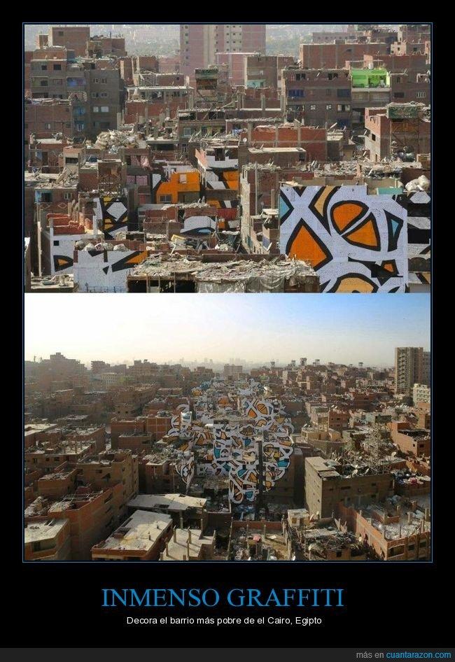 barrio,el cairo,graffiti,pobre