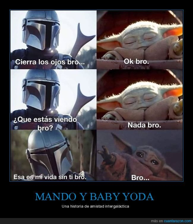 baby yoda,bro,star wars,the mandalorian