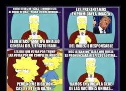 Enlace a La actualidad según Los Simpson