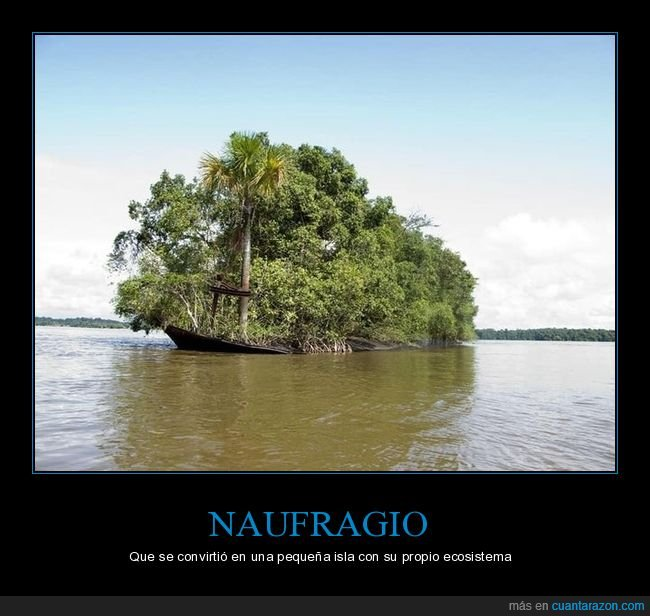 ecosistema,isla,naufragio