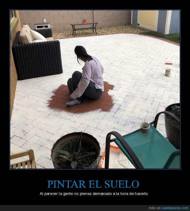fails,pintando,suelo