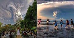 Enlace a Fotos que muestran el terrorífico poder del volcán Taal que ha hecho erupción en Filipinas