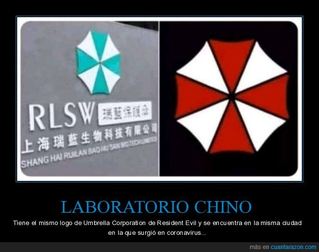 coronavirus,laboratorio,logo,umbrella