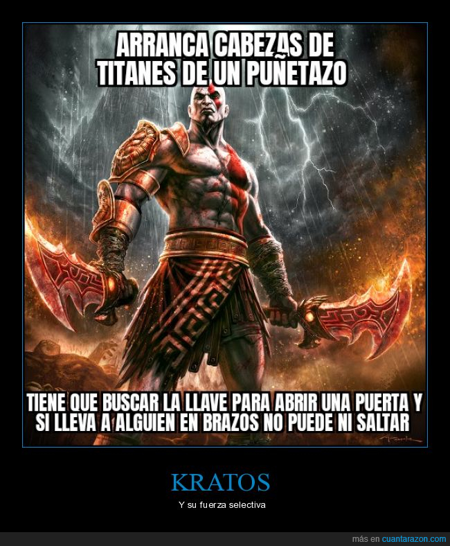 fuerza,god of war,kratos