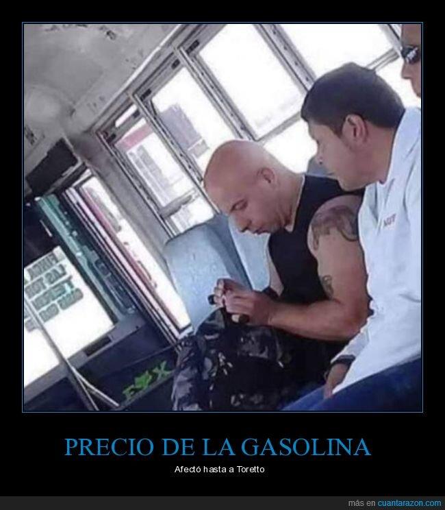 autobús,gasolina,parecidos,precio,toretto