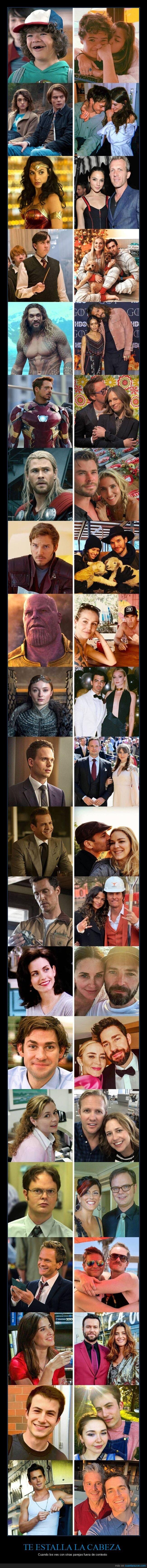 famosos,fuera del contexto,parejas