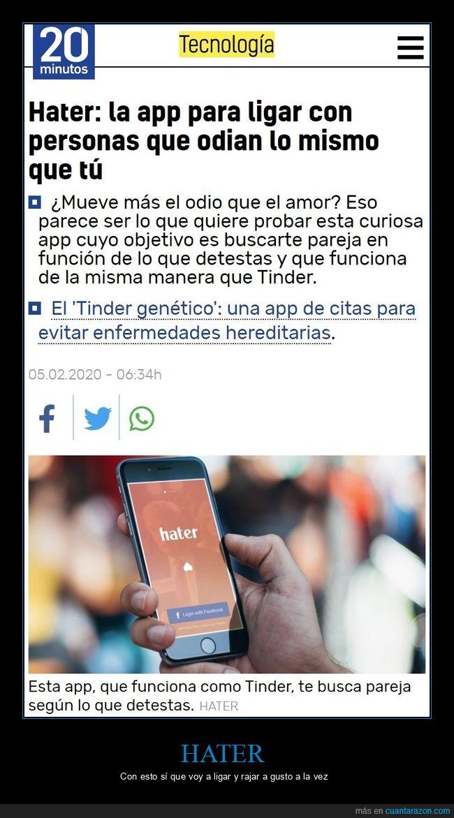 app,hater,ligar