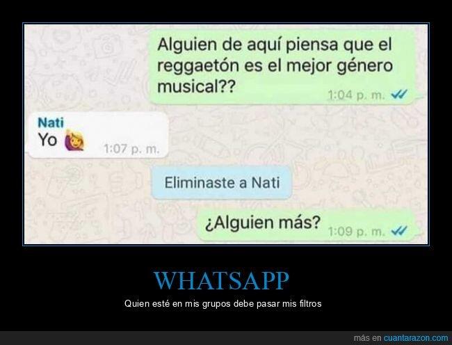 limpieza,reggaeton,whatsapp