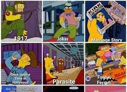 Enlace a Los Oscars 2020 versión Simpsons