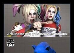 Enlace a La culpa no es de Sonic...
