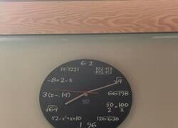 Enlace a Reloj matemático
