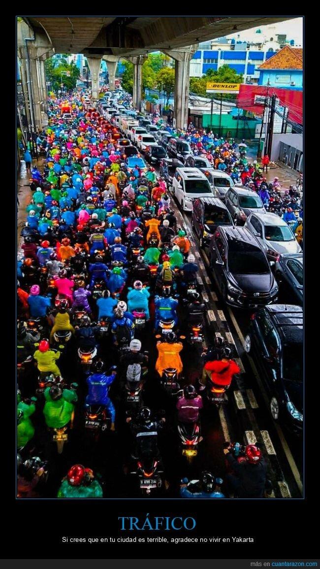 tráfico,yakarta