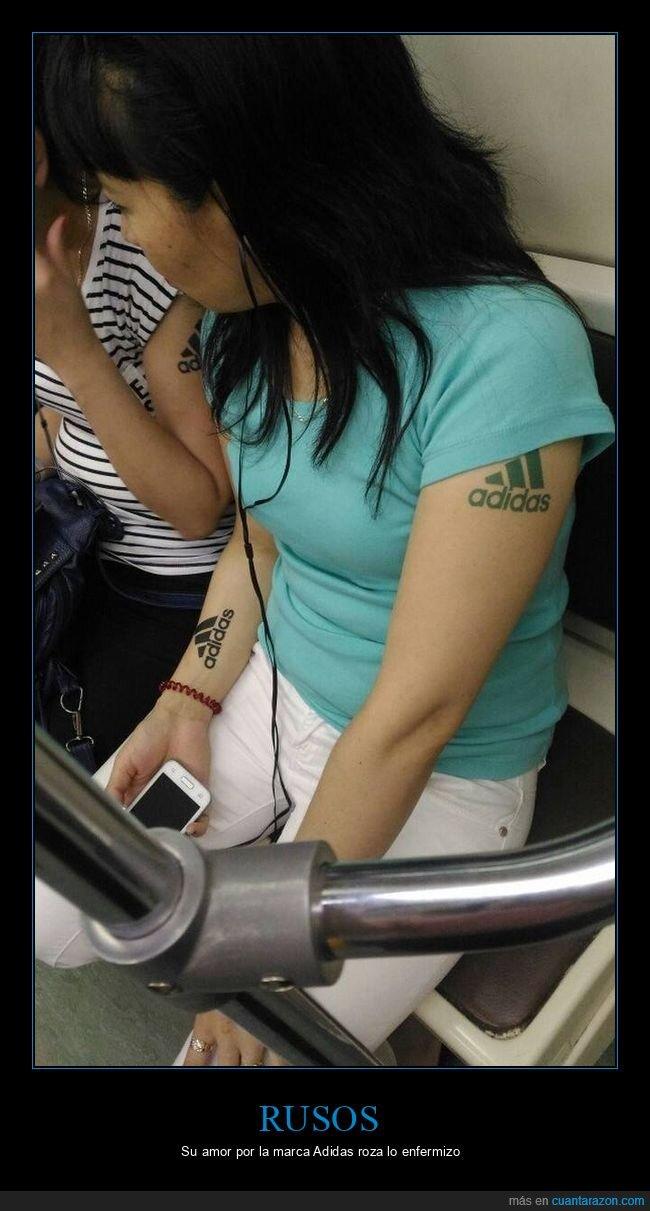adidas,rusos,tatuajes