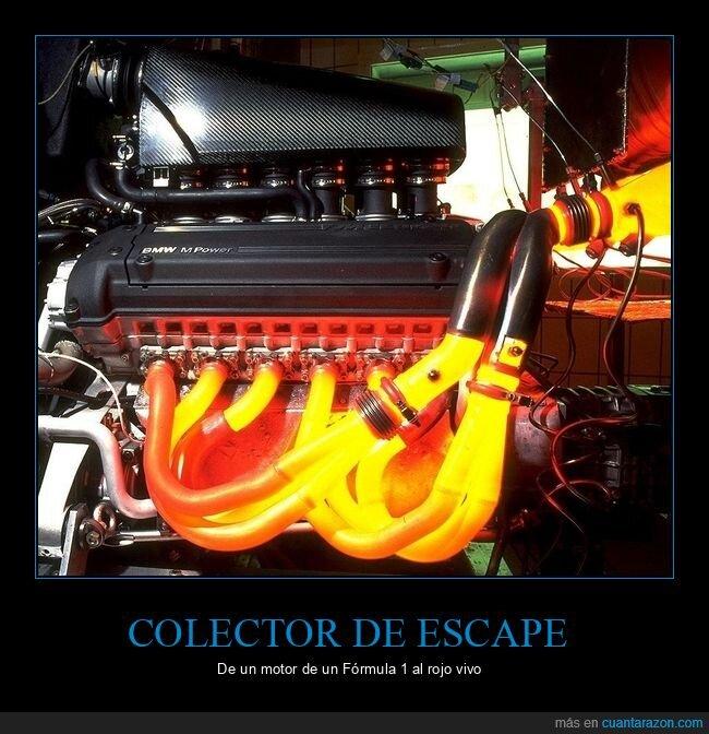 al rojo vivo,bmw,colector de escape,f1