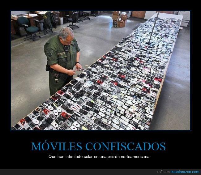 cárcel,confiscados,móviles