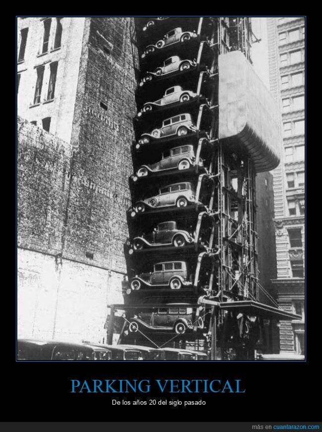 1920,coches,parking,retro,vertical