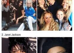 Enlace a Cantantes famosos de los 90s antes y ahora