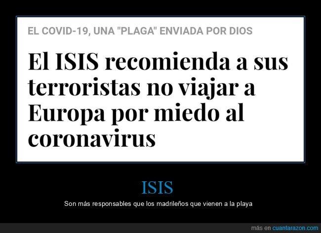 coronavirus,europa,isis,terroristas,viajar