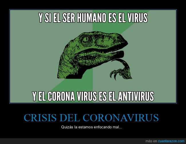 antivirus,coronavirus,filosoraptor,ser humano,virus
