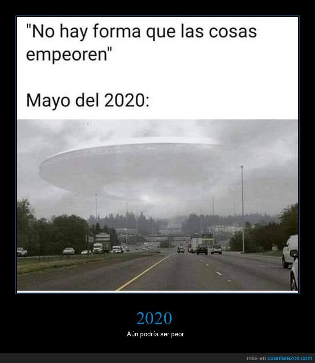 2020,coronavirus,empeorar,extraterrestres