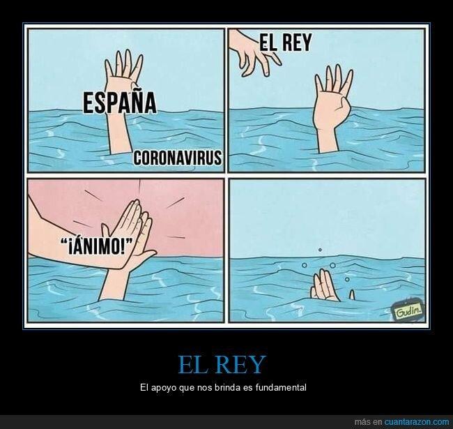 coronavirus,españa,rey