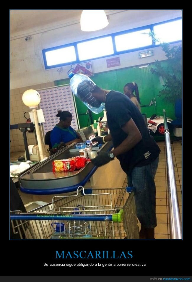 comprando,coronavirus,garrafa,mascarillas,supermercado