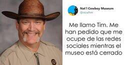 Enlace a El museo del Cowboy pone a su jefe de seguridad a cargo de su cuenta de twitter, y lo que escribe es tan divertido como auténtico