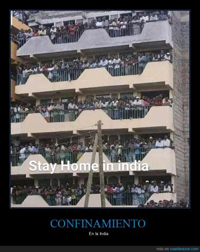 balcones,coronavirus,cuarentena,india,quedarse en casa,wtf