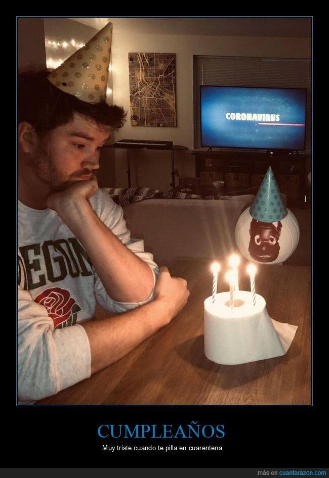 coronavirus,cuarentena,cumpleaños