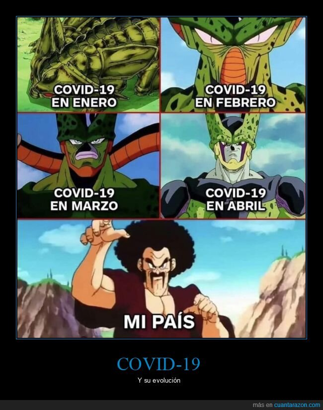 cell,coronavirus,dragon ball,mr satan