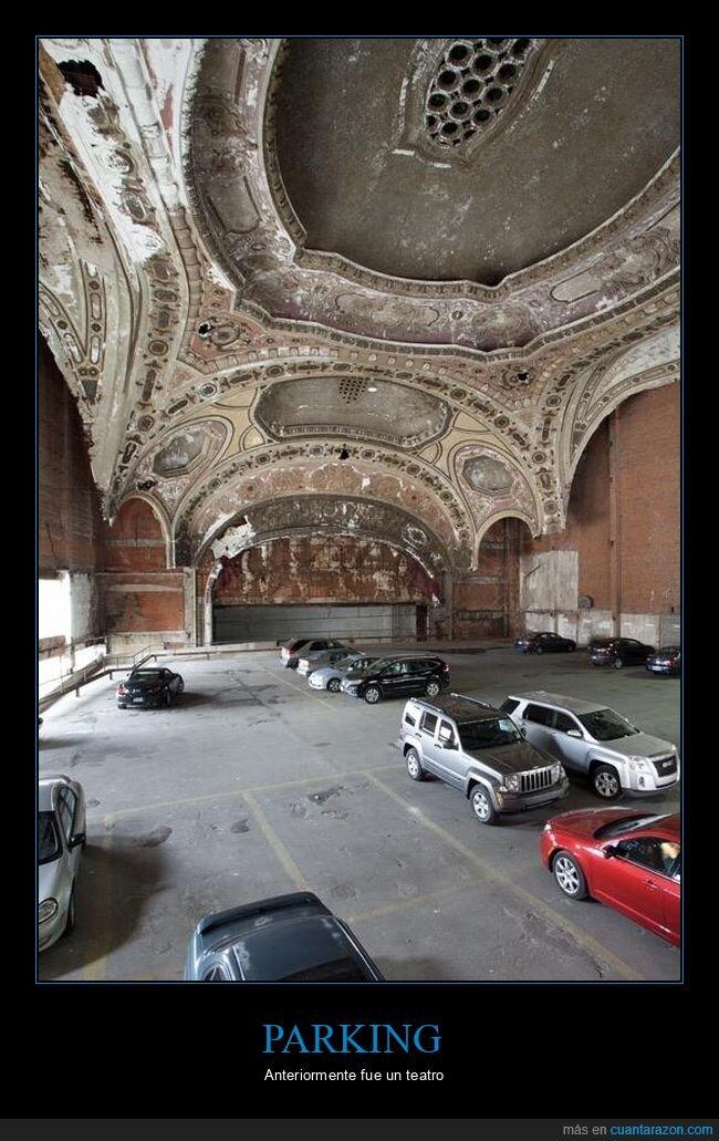 parking,teatro