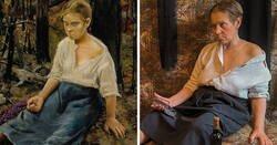 Enlace a Este grupo de Facebook de Rusia se dedica a recrear famosas obras de arte durante el aislamiento