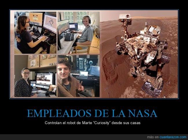 casas,coronavirus,cuarentena,curiosity,marte,nasa,robot