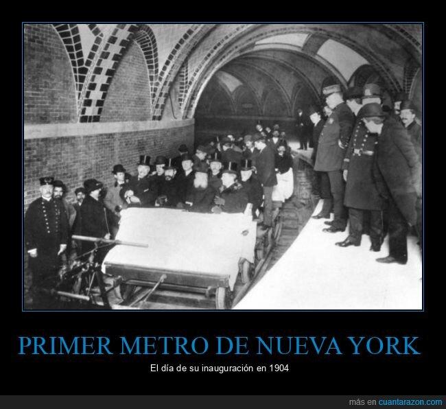 inauguración,metro,nueva york