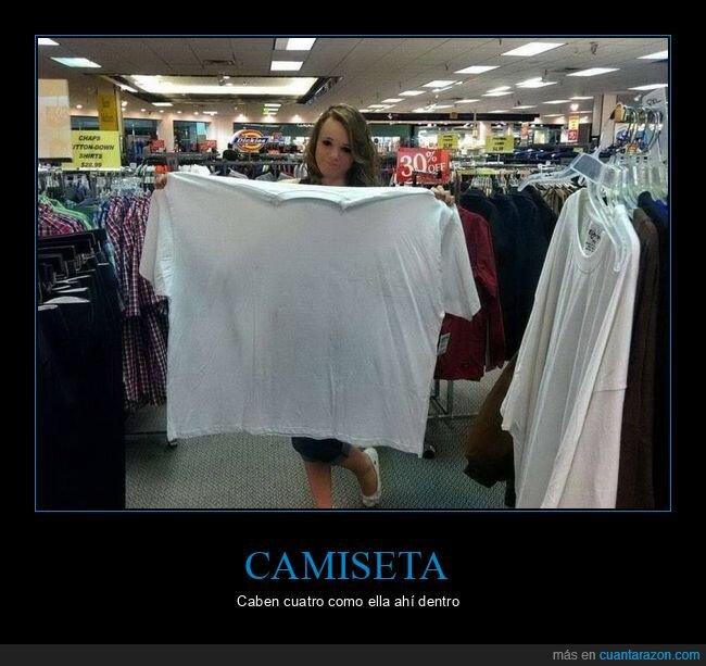 camiseta,gigante,talla
