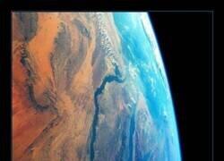 Enlace a Así se ve el río Nilo desde el espacio