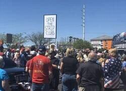 Enlace a Protesta anti-confinamiento estadounidense