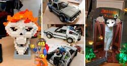 Enlace a Increíbles creaciones hechas con Legos que te dejarán con la boca abierta