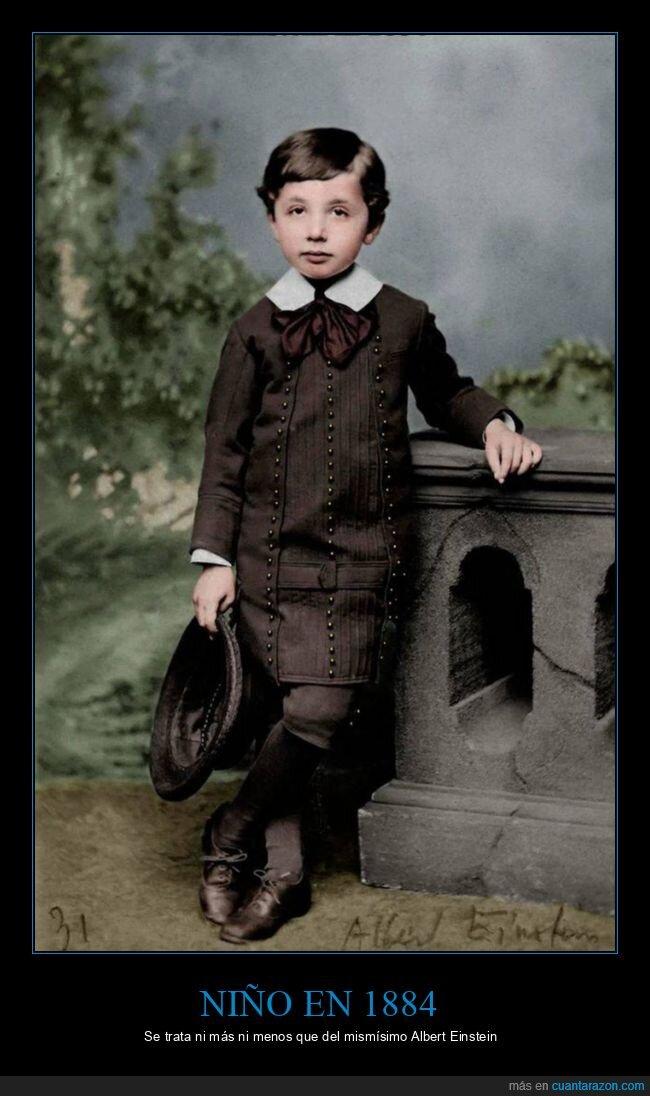 1884,albert einstein,niño