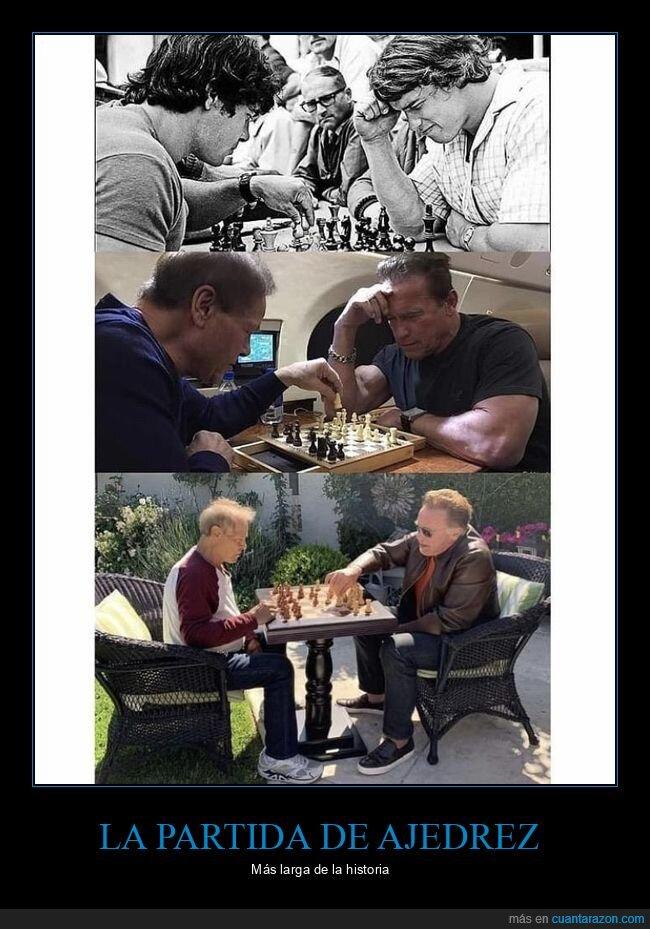 ajedrez,antes,después,franco columbu,schwarzenegger