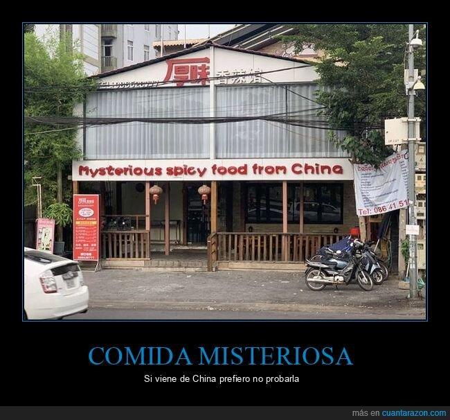 china,comida,misteriosa,picante,restaurante