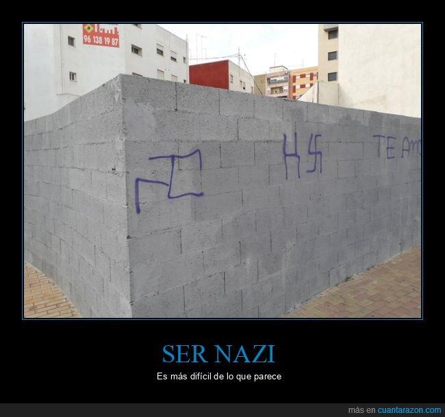 esvástica,esvásticas,fail,nazi,pintada