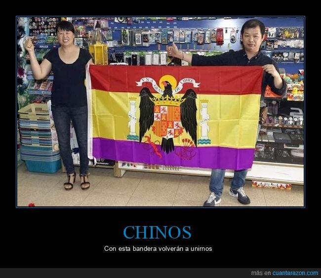 bandera,chinos,franquistas,republicana,wtf
