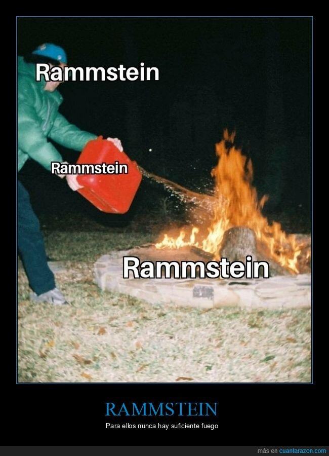 fuego,rammstein