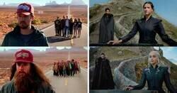 Enlace a Pareja viaja por el mundo para recrear las escenas de películas en el mismo lugar