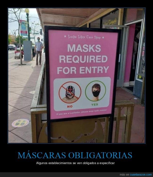 cartel,coronavirus,máscaras,mascarillas,wtf
