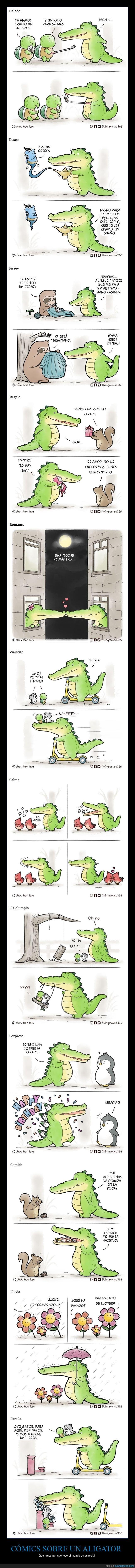 aligator,cómics