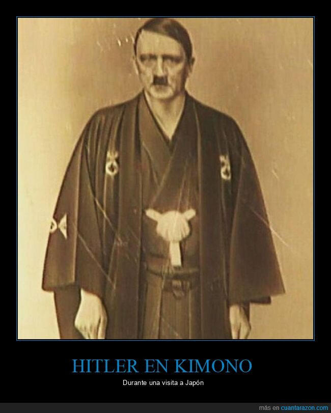 hitler,japón,kimono,wtf