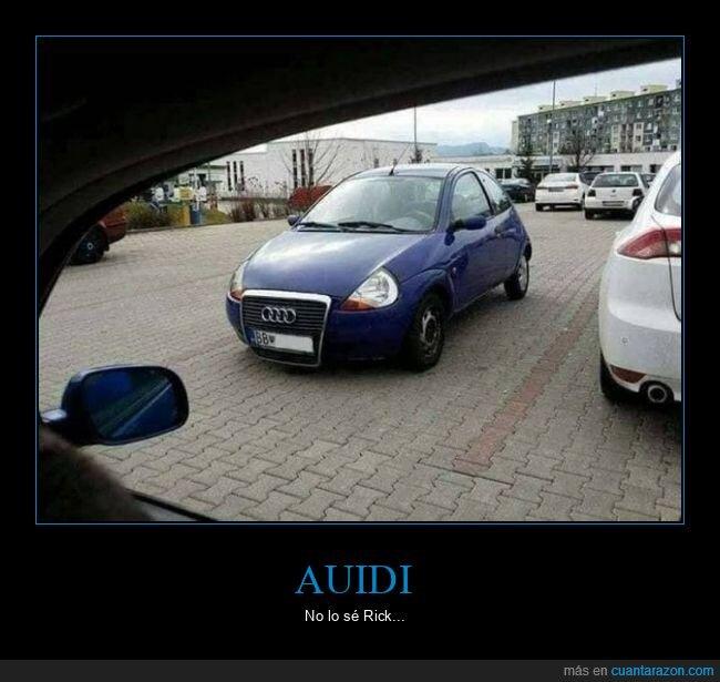 audi,coche,ford,ka,wtf